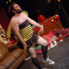 "Kurt Braunohler and The Bee Girl (John Gemberling) • <a style=""font-size:0.8em;"" href=""http://www.flickr.com/photos/98625087@N00/6532293005/"" target=""_blank"">View on Flickr</a>"