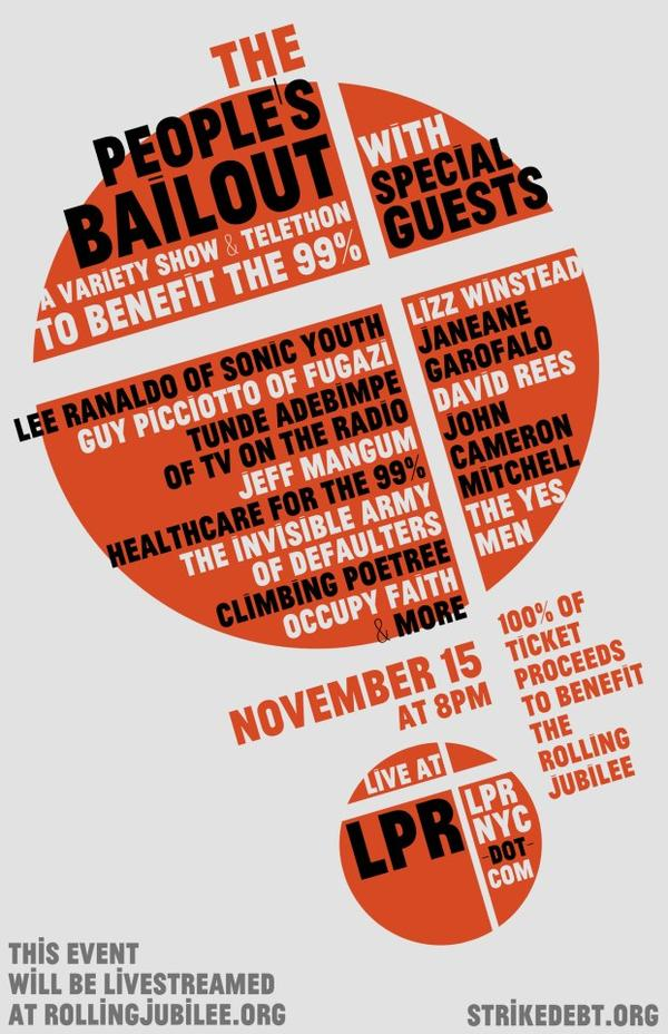 The People's Bailout: A Variety Show and Telethon to Benefit the 99%
