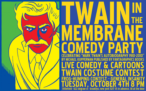 Twain in the Membrane: A Comedy Party